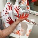 Krwawy ręcznik