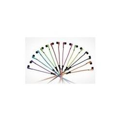 Słuchawki suwak - mix kolorów